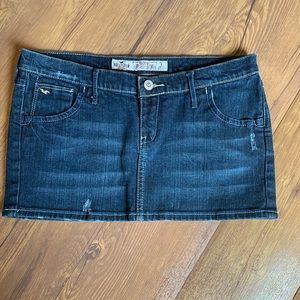 2/$15 Hollister Jean Skirt sz 1